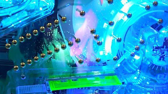 サイボーグ009VSデビルマン,止め打ち,電チュー,アタッカー,スルー009vsdeviltomeuti18030502