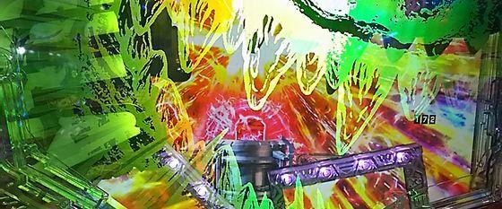 CR真・怪獣王ゴジラ,止め打ち,pachinkosinkaijuuougodzilla181211kadou03