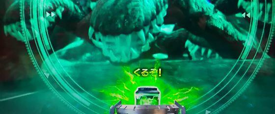 CR真・怪獣王ゴジラ,止め打ち,pachinkosinkaijuuougodzilla181211kadou06